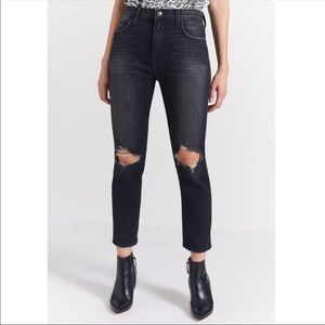 Current Elliott Vintage cropped slim torpedo jeans